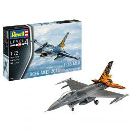 REVELL 1/72 Model Set - F-16 MLU 31 Sqn. Klein-Brogel