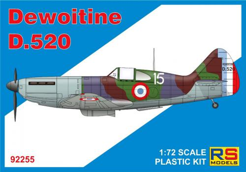 RS MODEL 1/72 Dewoitine D.520