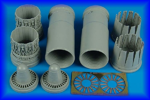AIRES 1/32 EF 2000A early exhaust nozzles for REV - zvìtšit obrázek