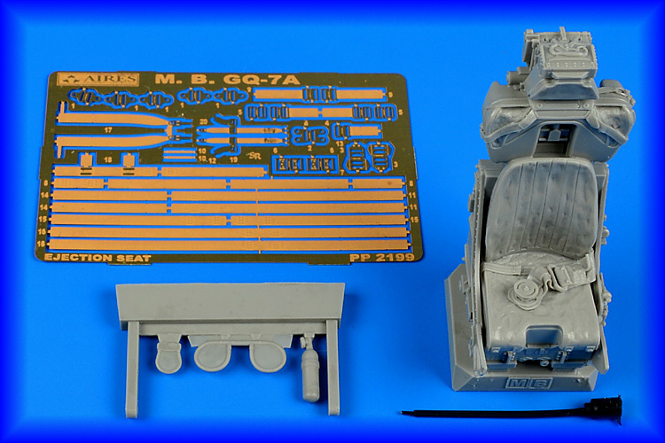 AIRES 1/32 M.B. Mk GQ-7A ejection seat for ITA - zvìtšit obrázek
