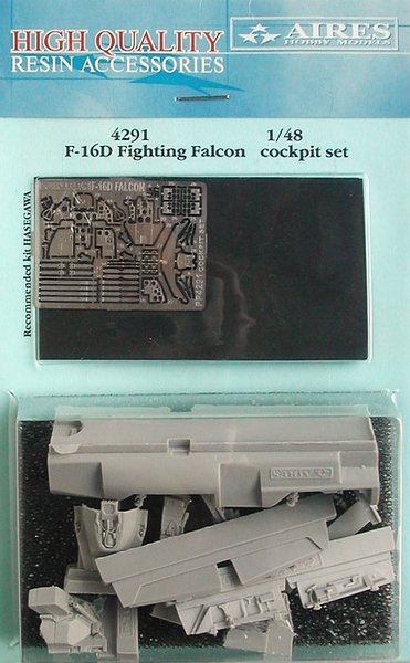 AIRES 1/48 F-16D Fighting Falcon cockpit set   (for Hasegawa) - zvìtšit obrázek