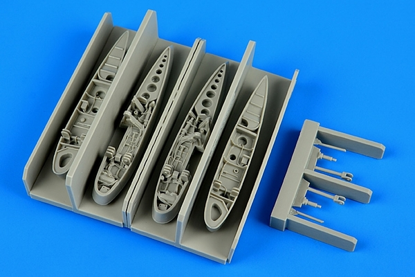 AIRES 1/72 F9F Panther wingfolds (for Hobby Boss) - zvìtšit obrázek