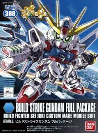 GUNDAM BANDAI BB388 BUILD STRIKE GUNDAM FULL PACKAGE GUN57993 No Box  - zvìtšit obrázek