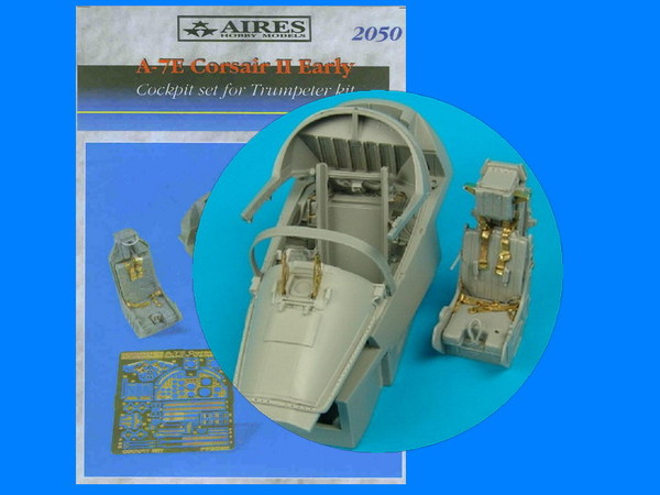 AIRES 1/32 A-7E cockpit set - early version  (for Trumpeter) - zvìtšit obrázek