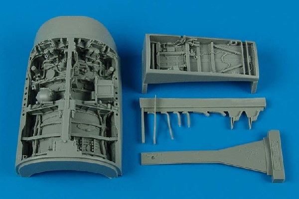 AIRES 1/32 F-16C Fighting Falcon wheel bay  (for Academy) - zvìtšit obrázek